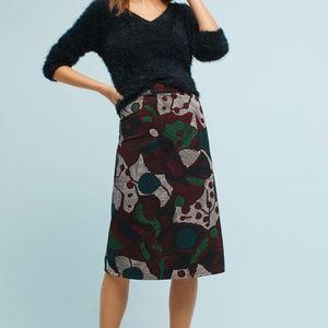 Anthropologie Turia Pencil Skirt By Isla Maude L